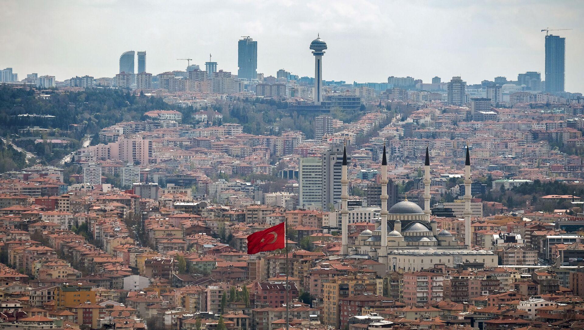 Вид на город Анкара. - Sputnik Абхазия, 1920, 02.10.2021