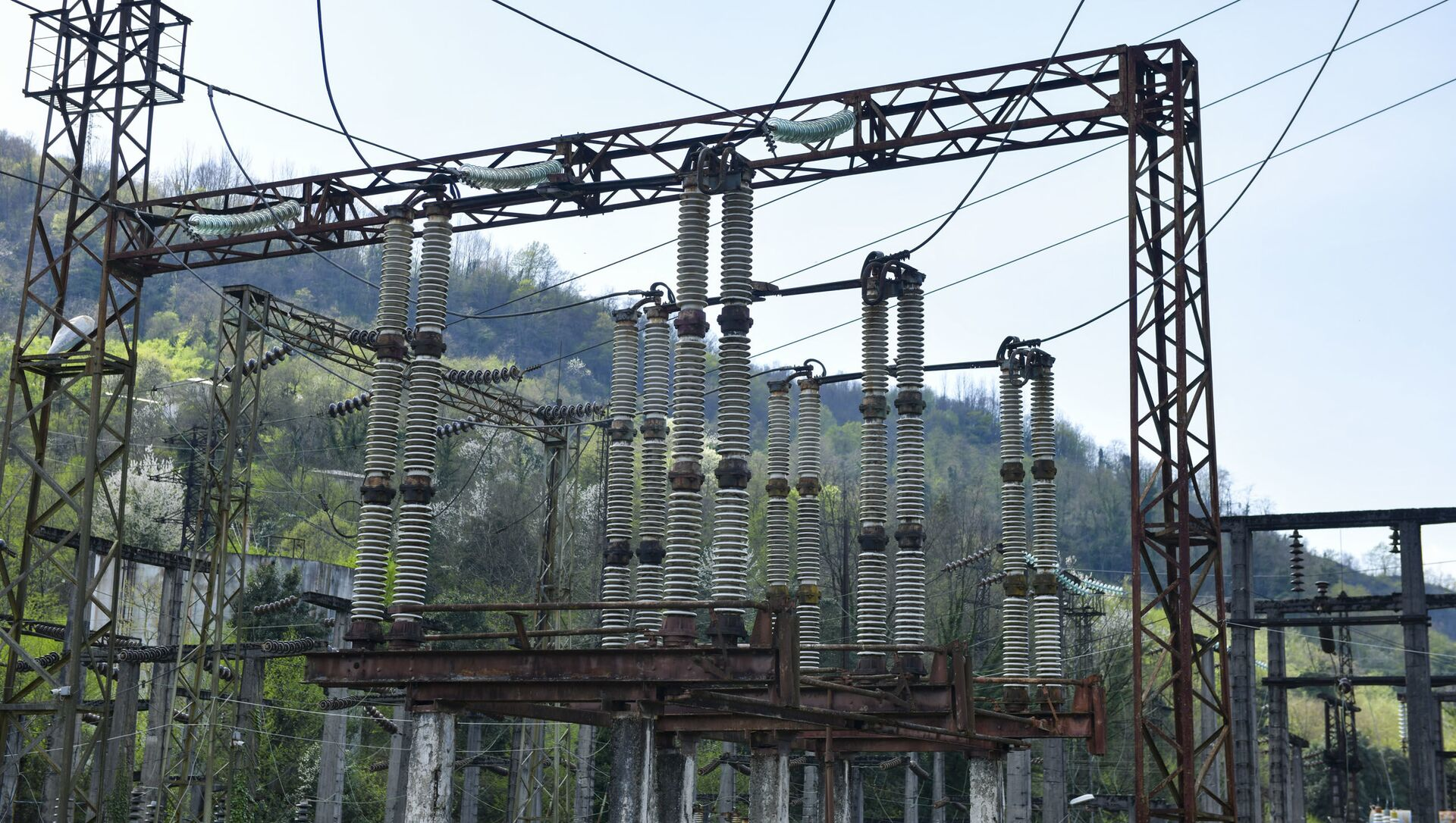 Электропровода  - Sputnik Абхазия, 1920, 29.08.2021