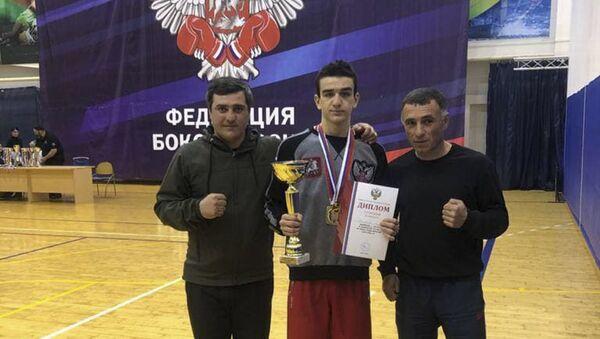 Пятнадцатилетний Саир Качарава из Абхазии победил в первенстве России по боксу среди юношей - Sputnik Аҧсны