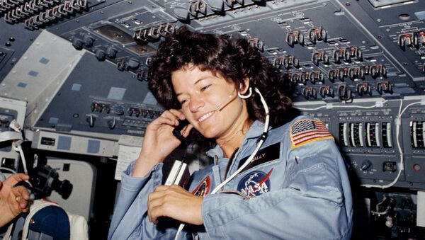 Первая женщина Америки, побывавшая в космосе Салли Райд - Sputnik Абхазия