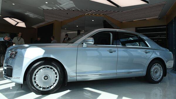 Открытие первого шоурума автомобилей Aurus - Sputnik Абхазия