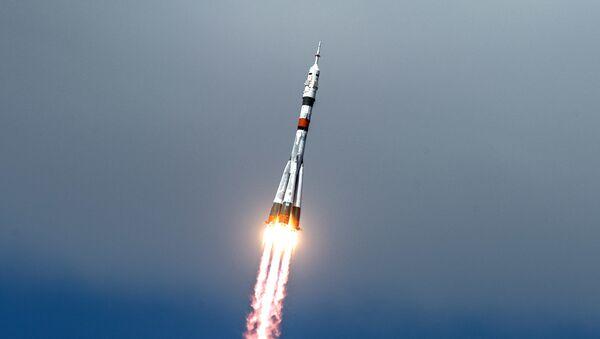 Запуск пилотируемого корабля Союз МС-16 с экипажем МКС-63 - Sputnik Аҧсны