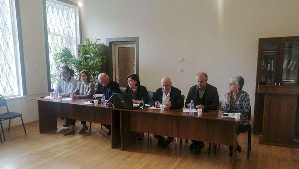 Пресс-конференция в ЦСЭИ - Sputnik Абхазия