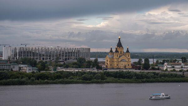Собор Александра Невского в Нижнем Новгороде. - Sputnik Абхазия