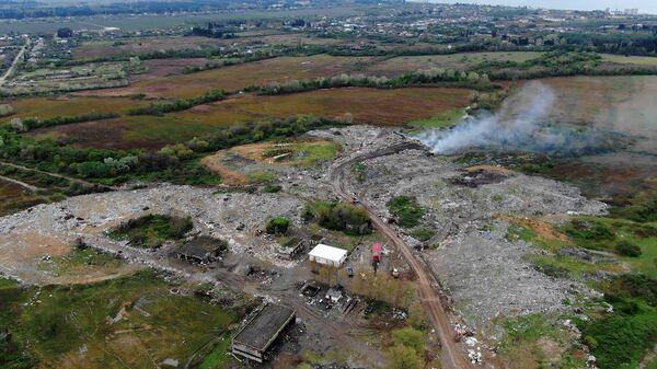 Дыхание свалки: чем живет полигон отдходов в селе Алахадзы и кто там обитает - Sputnik Абхазия