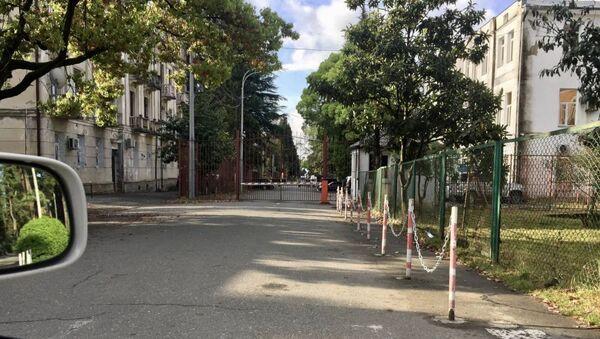 Сторонники Ахры Авидзба покинули территорию у СГБ и МВД Абхазии - Sputnik Абхазия