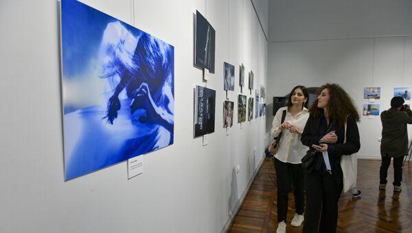 Открытие выставки Абхазия в фокусе в ЦВЗ  - Sputnik Аҧсны