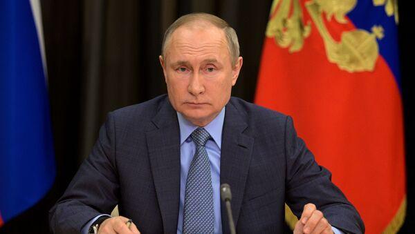 Президент РФ В. Путин провел встречу с вице-премьером РФ Т. Голиковой  - Sputnik Аҧсны