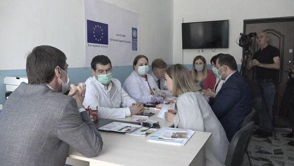 Открытие школы диабета в Гале - Sputnik Аҧсны
