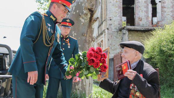 Военнослужащие российской военной базы Южного военного округа  - Sputnik Абхазия