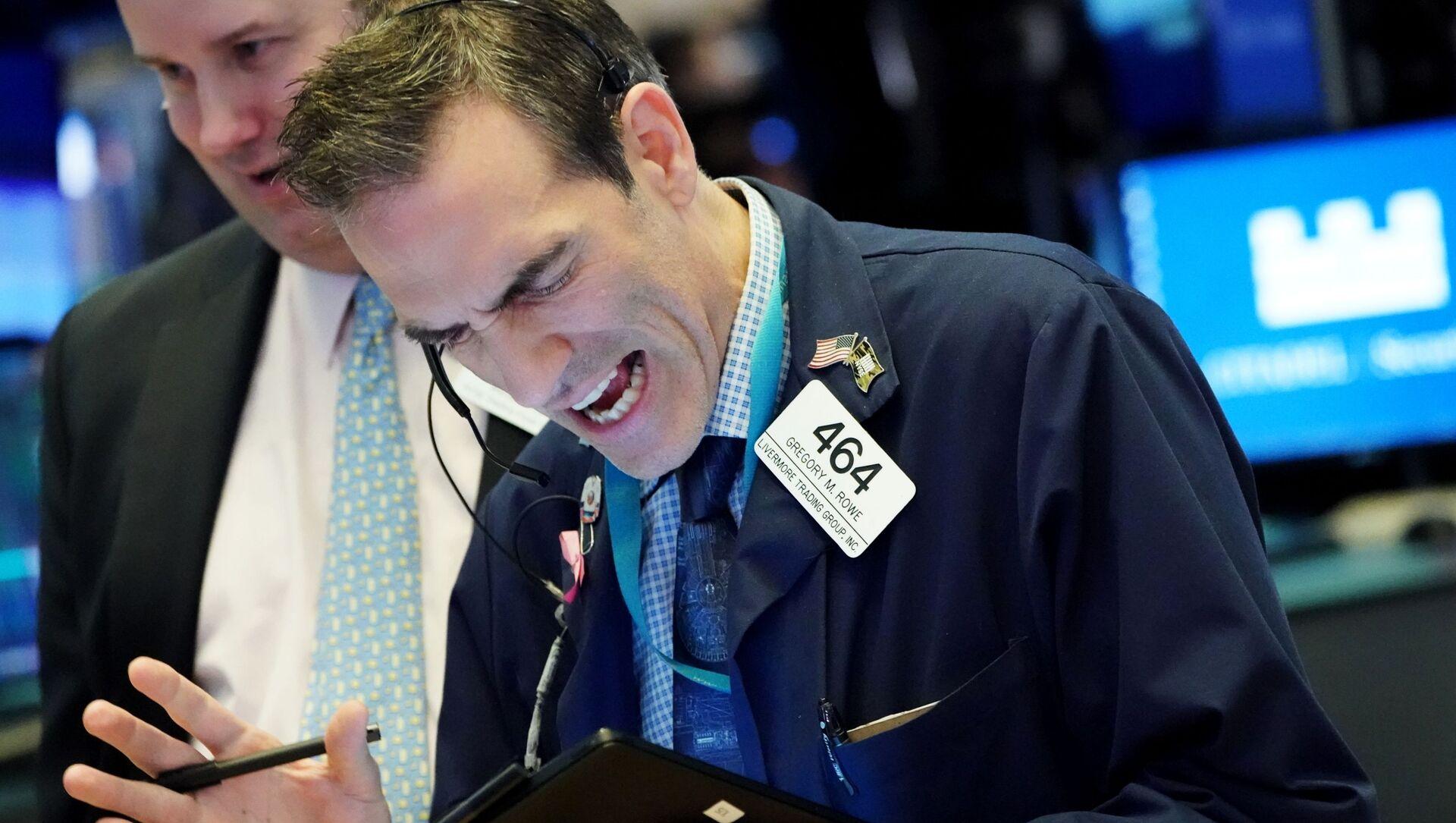 Нью-Йоркская фондовая биржа - Sputnik Аҧсны, 1920, 10.05.2021