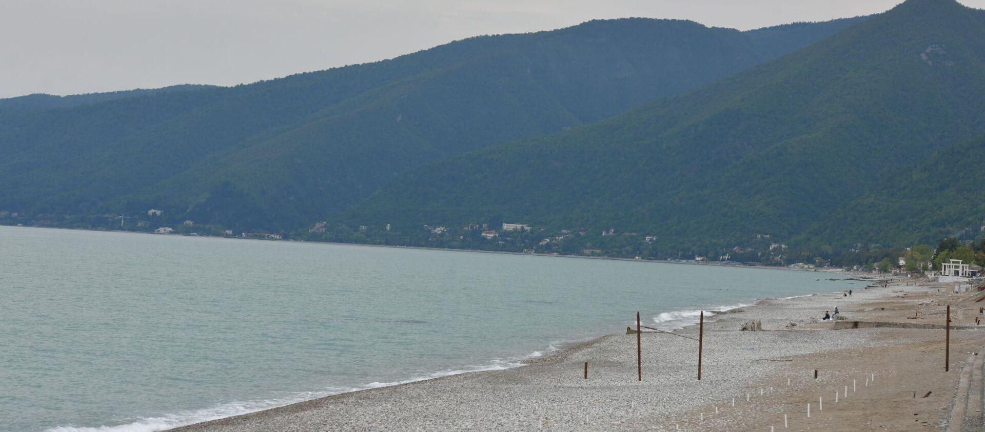 Побережье Гагры  - Sputnik Абхазия, 1920, 24.07.2021