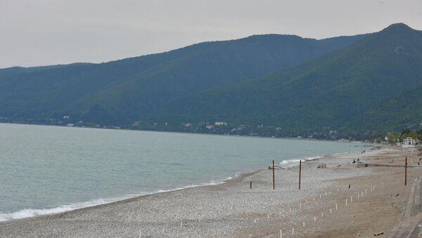 Побережье Гагры  - Sputnik Абхазия