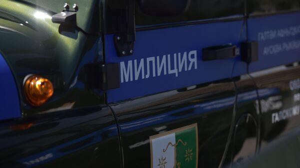Патрульные машины МВД Абхазии  - Sputnik Абхазия