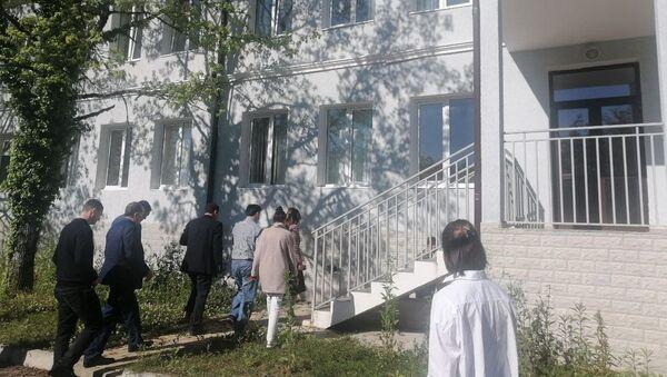 Кристина Озган посетила детский сад в Очамчыре - Sputnik Аҧсны