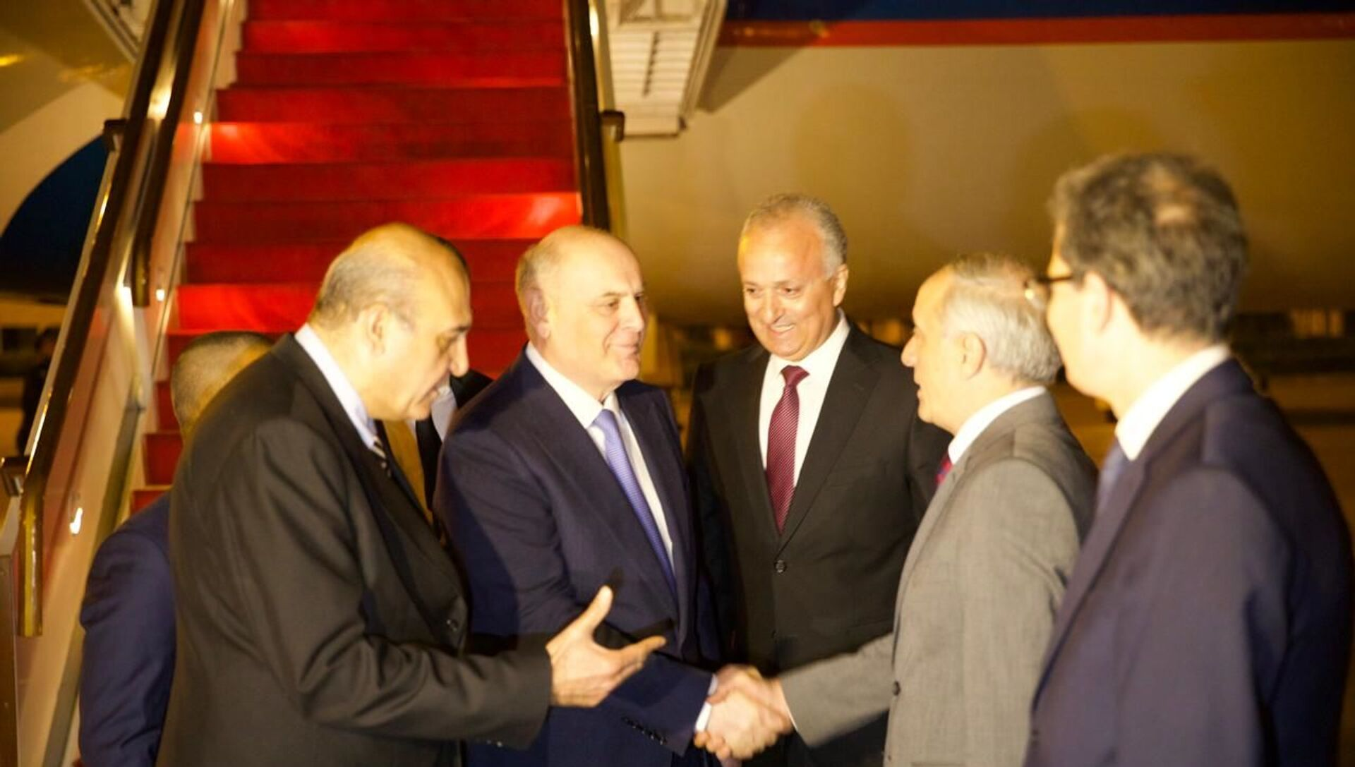 Президент Республики Абхазии Аслан Бжания с официальным визитом прибыл в Сирийскую Арабскую Республику. - Sputnik Аҧсны, 1920, 17.05.2021