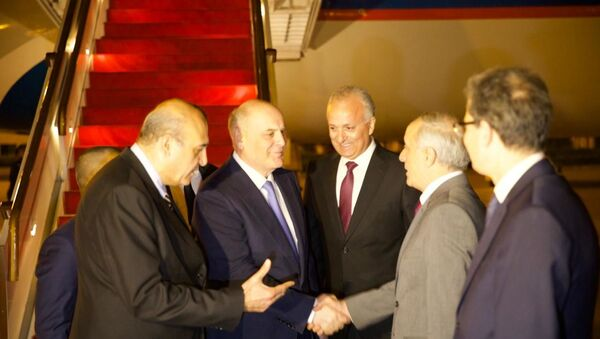 Президент Республики Абхазии Аслан Бжания с официальным визитом прибыл в Сирийскую Арабскую Республику. - Sputnik Аҧсны