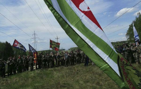 За проявленное мужество: «НЕРС» из Абхазии получил награду в играх «Сутки на броне»  - Sputnik Аҧсны