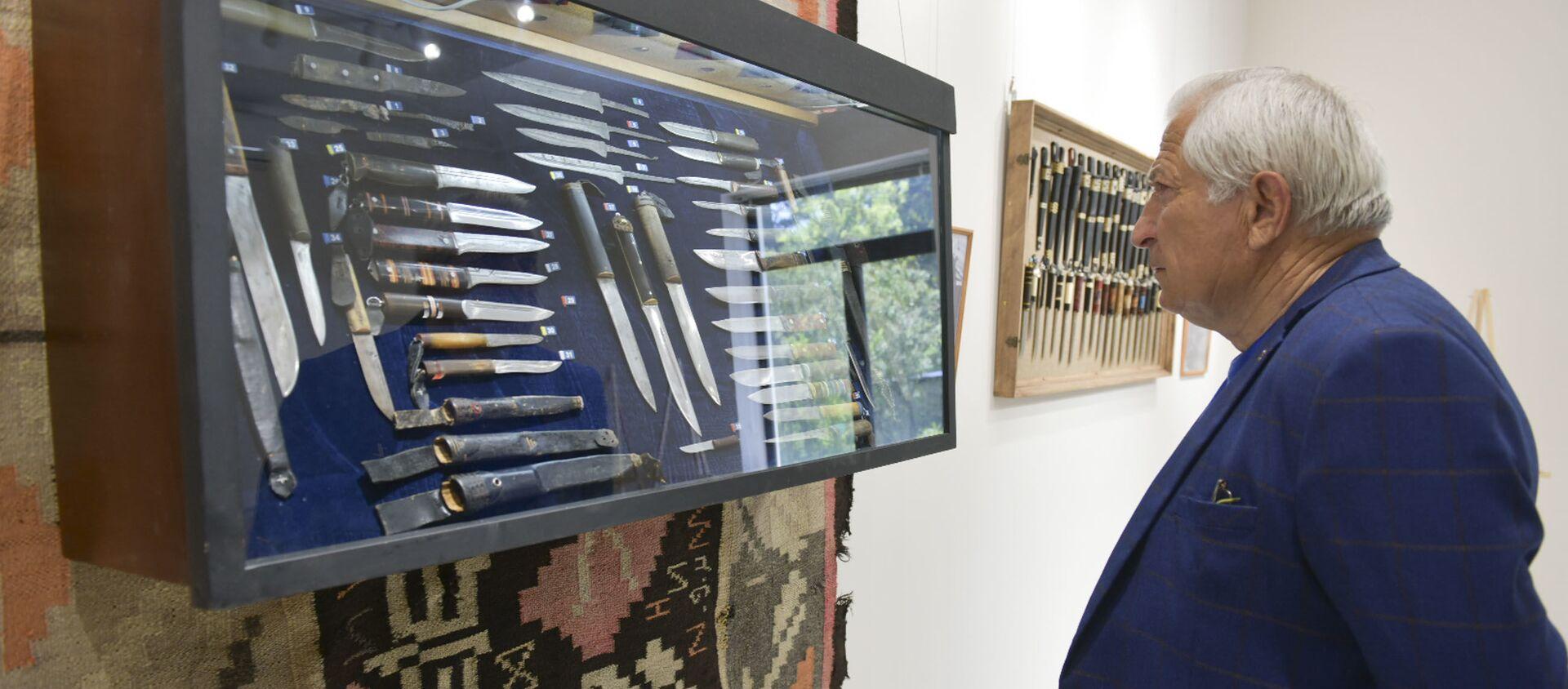 Выставка ножей открылась в музее Гудауты - Sputnik Абхазия, 1920, 18.05.2021