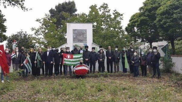 Кефкен, Турция. Потомки абхазских махаджиров вспоминают жертв Кавказской войны - Sputnik Аҧсны