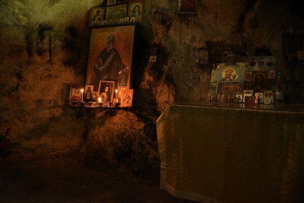 Грот-келья святого апостола Симона Кананита – место паломничества православных христиан. - Sputnik Аҧсны