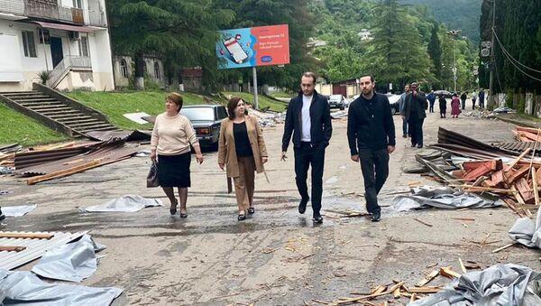 Министерства юстиции Абхазии в Ткуарчале  - Sputnik Абхазия
