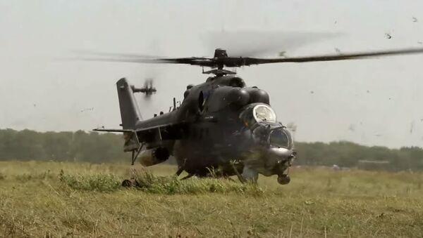 Учение спецназа и летчиков армейской авиации на Кубани - Sputnik Абхазия