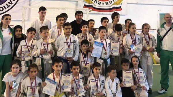 Сборная команда Абхазии по тхэквондо - Sputnik Абхазия