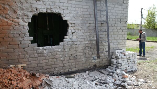 Последствия обстрела в Донецке - Sputnik Абхазия