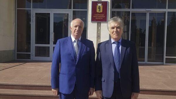 Министр по чрезвычайным ситуациям Республики Абхазия Лев Квициния находится с рабочей поездкой в Ярославской области - Sputnik Аҧсны
