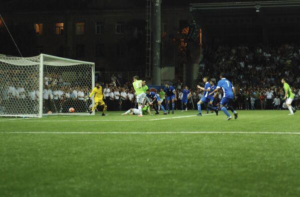 Этого гола поклонники сборной Абхазии ждали практически весь матч.  - Sputnik Аҧсны