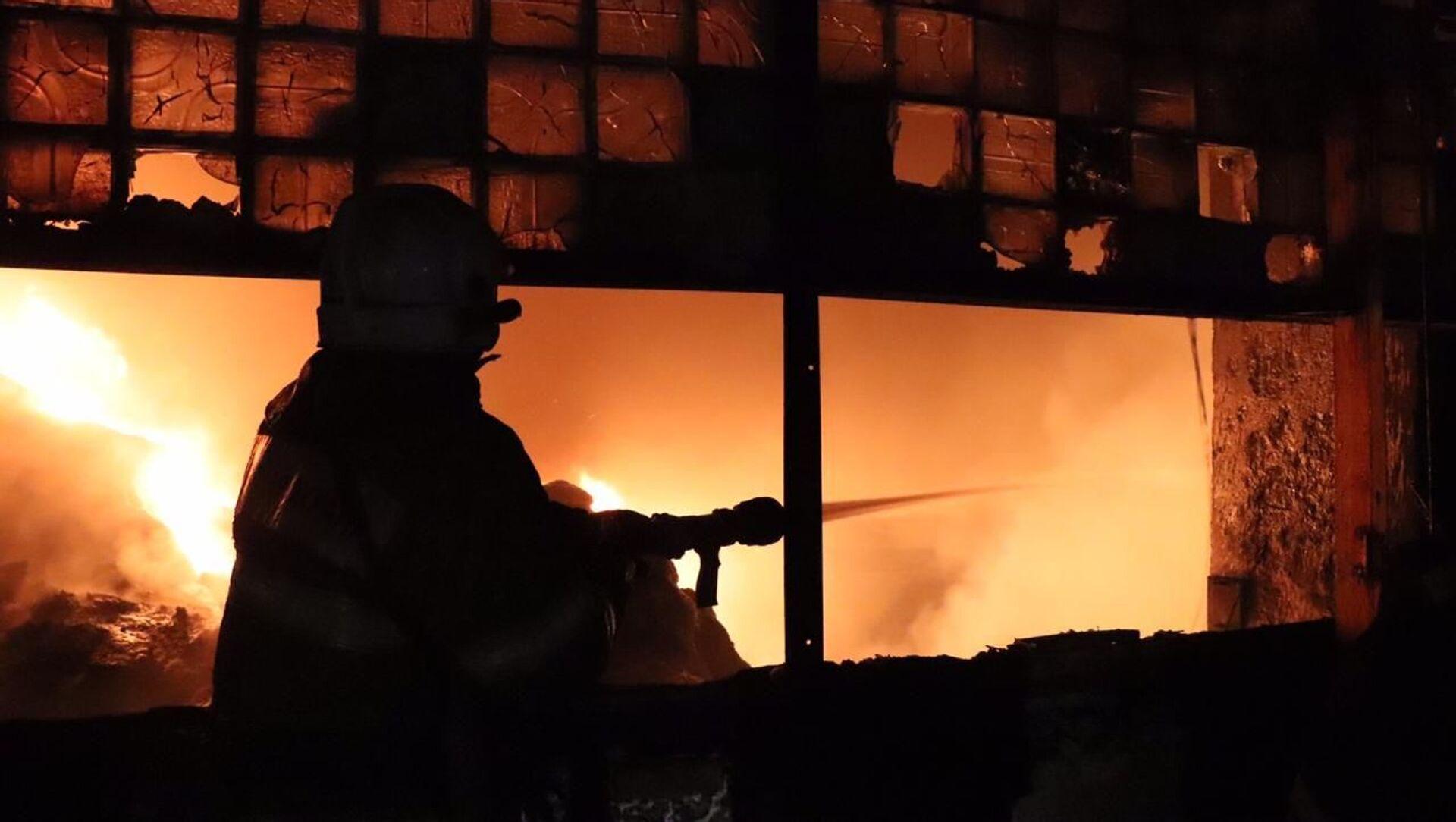 Пожар в Рязани - Sputnik Абхазия, 1920, 28.08.2021