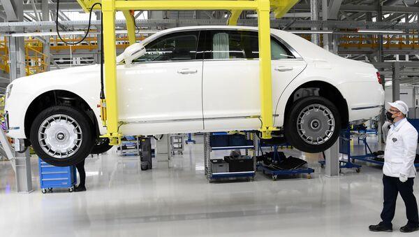 Старт серийного производства автомобилей Aurus Senat - Sputnik Аҧсны