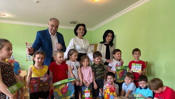 Первая Леди Абхазии Аэлита Ахиба  - Sputnik Аҧсны