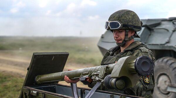Всеармейские соревнования ПВО Чистое небо  - Sputnik Аҧсны