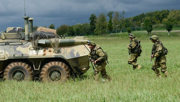Военнослужащие ЮВО в Абхазии  - Sputnik Абхазия
