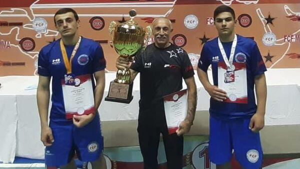 Сборная Абхазии стала третьей в командном зачете на Кубке мира по полноконтактному рукопашному бою - Sputnik Абхазия