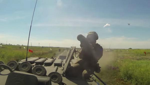 Зенитчики ЮВО отразили ракетно авиационный удар условного противника на Северном Кавказе - Sputnik Абхазия