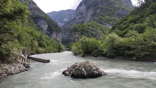 Поиски туристки в районе реки Гега  - Sputnik Аҧсны