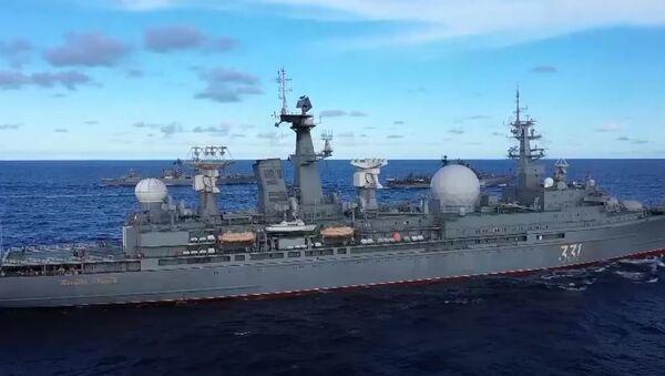 Масштабные учения в Тихом океане: силы ТОФ вытеснили подлодку условного противника - Sputnik Абхазия