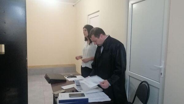 Суд над Дмитрием Пилия в Гулрыпшском госпитале - Sputnik Аҧсны