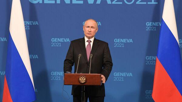 Встреча президентов России и США В. Путина и Дж. Байдена в Женеве - Sputnik Аҧсны