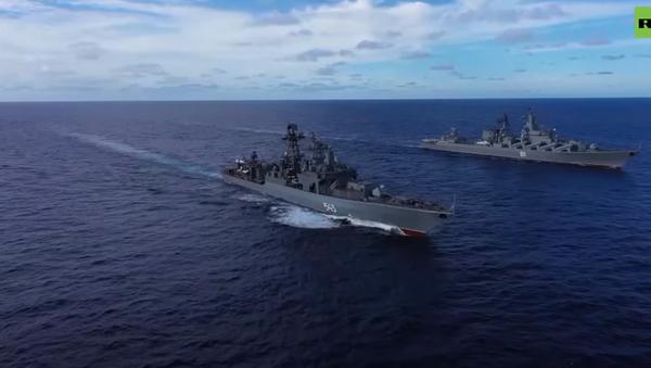 В Тихом океане проходят учения Военно-морского флота  - Sputnik Абхазия