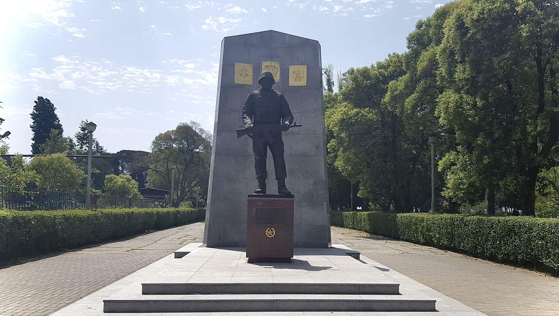 Военнослужащие ЮВО отметили 27-ю годовщину начала миротворческой операции в Абхазии - Sputnik Аҧсны, 1920, 22.06.2021