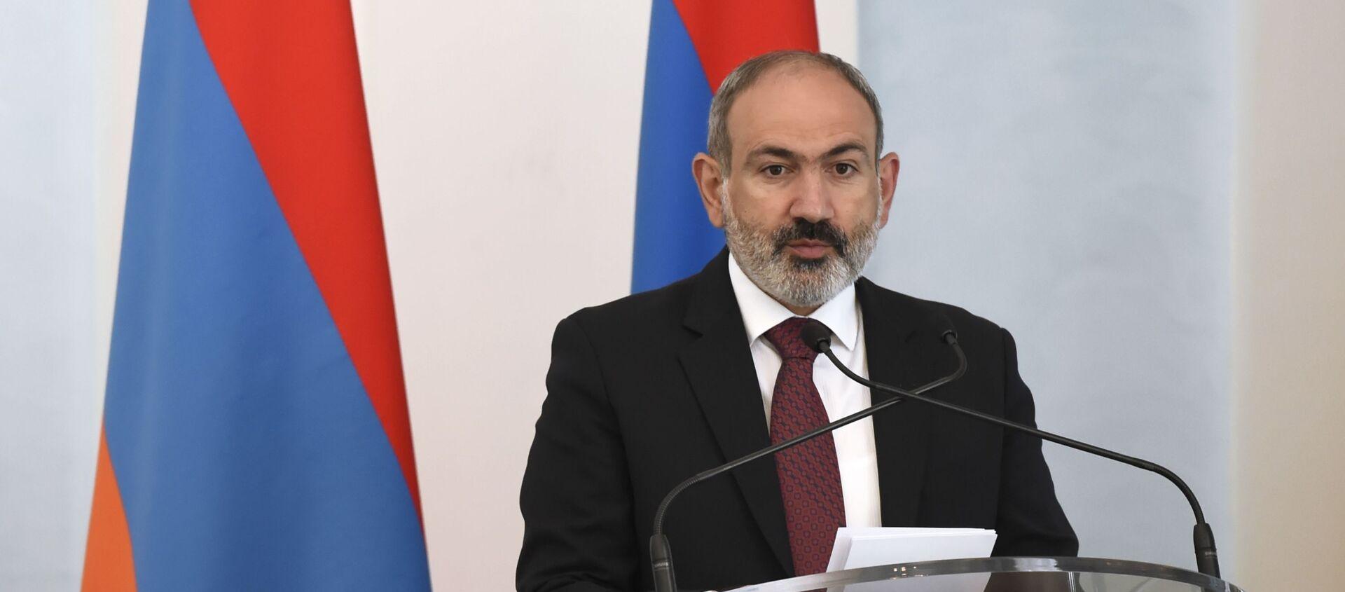 Визит премьер-министра Грузии в Армению - Sputnik Абхазия, 1920, 23.06.2021