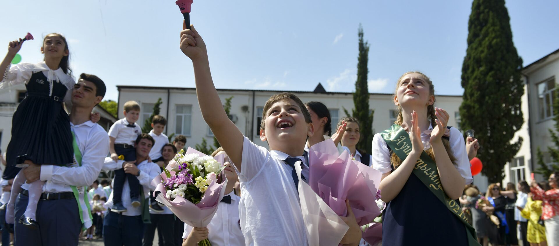 Последний звонок в сухумских школах  - Sputnik Абхазия, 1920, 25.08.2021
