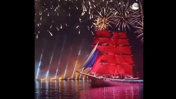Поехали: праздник Алые паруса в Петербурге - Sputnik Абхазия
