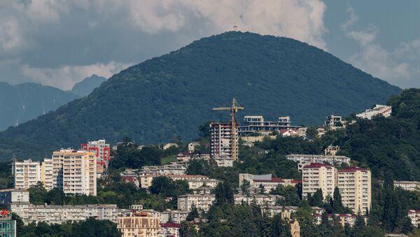 Вид на гору Ахун. - Sputnik Аҧсны