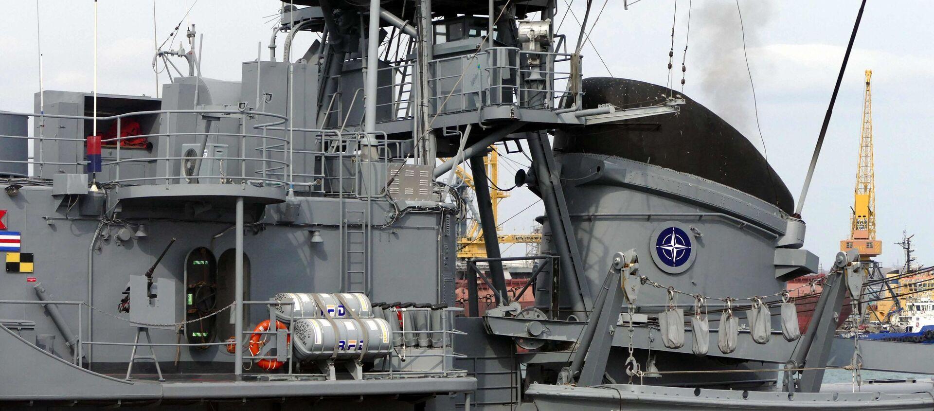 В порт Одессы вошли военные корабли НАТО - Sputnik Абхазия, 1920, 12.07.2021