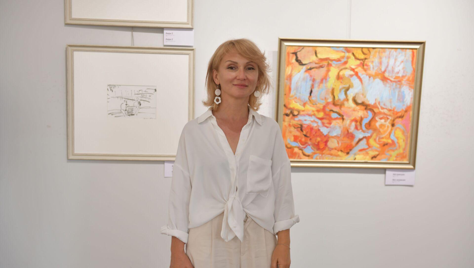 Открывается персональная выставка Мадины Бигуаа - Sputnik Абхазия, 1920, 17.09.2021